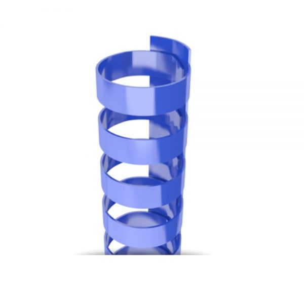 Royal Blue Plastic 19-Ring Combs