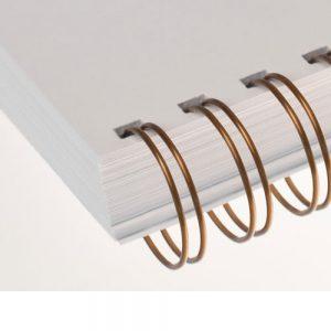 Bronze Twin Loop Wire