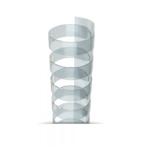 Clear Plastic 19-Ring Combs