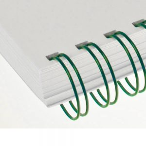 Green Twin Loop Wire