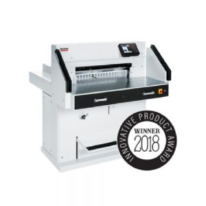 MBM VRCut Ready Triumph 7260 Automatic and Programmable Paper Stack Cutter