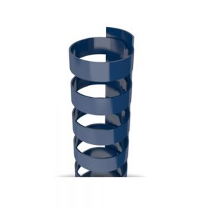 Navy Plastic 19-Ring Combs