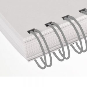 Pewter Twin Loop Wire