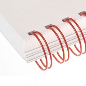 Red Twin Loop Wire