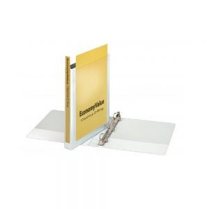 Slanted D-Ring Clear View 3-Ring Binders