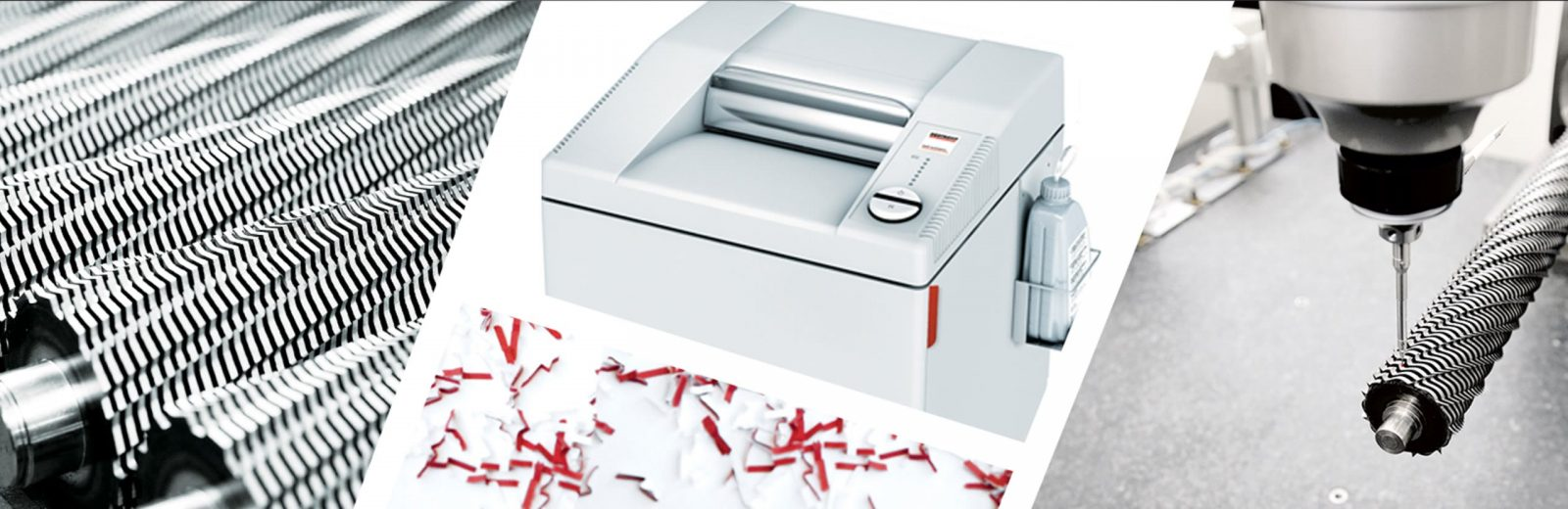 paper shredders and coils
