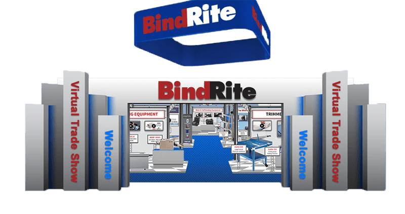 BindRite Trade Show graphic